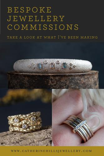 Jewellery Commissions: Take a Look at What I've Been Making