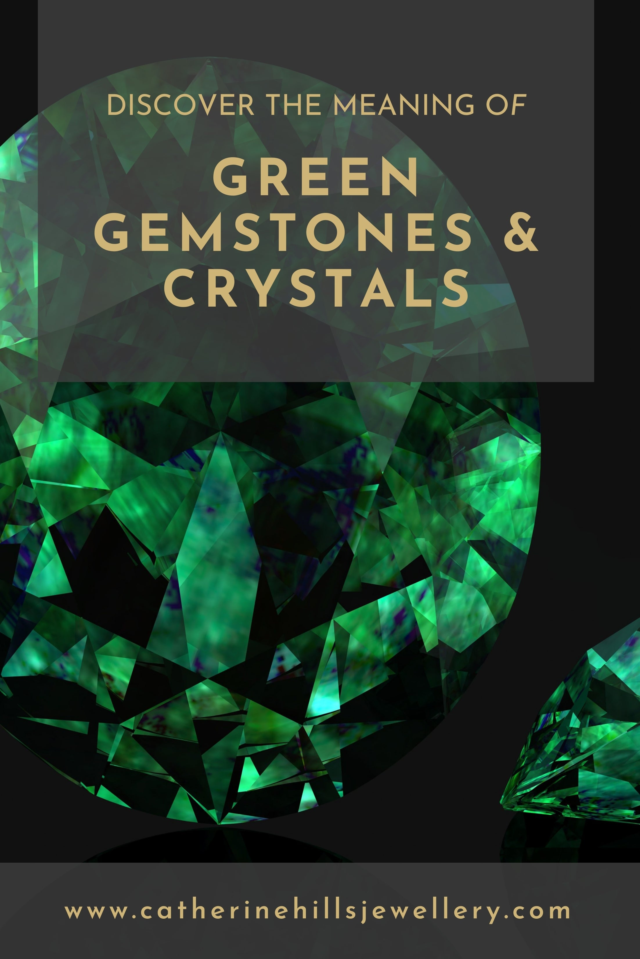 Discover the meaning of green gemstones and crystals