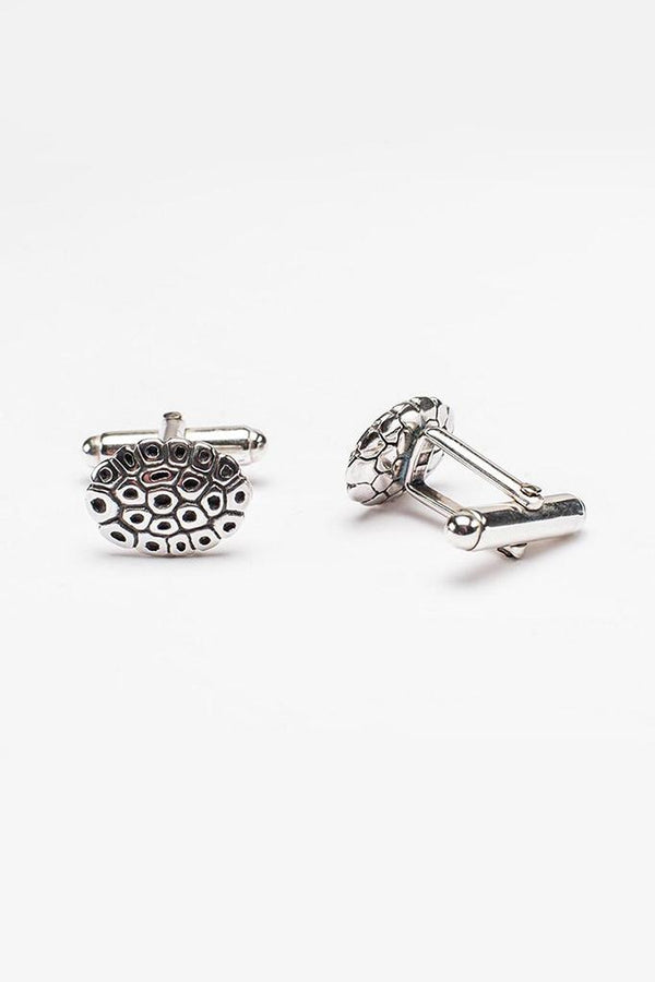 Turtle Cufflinks with T Bar