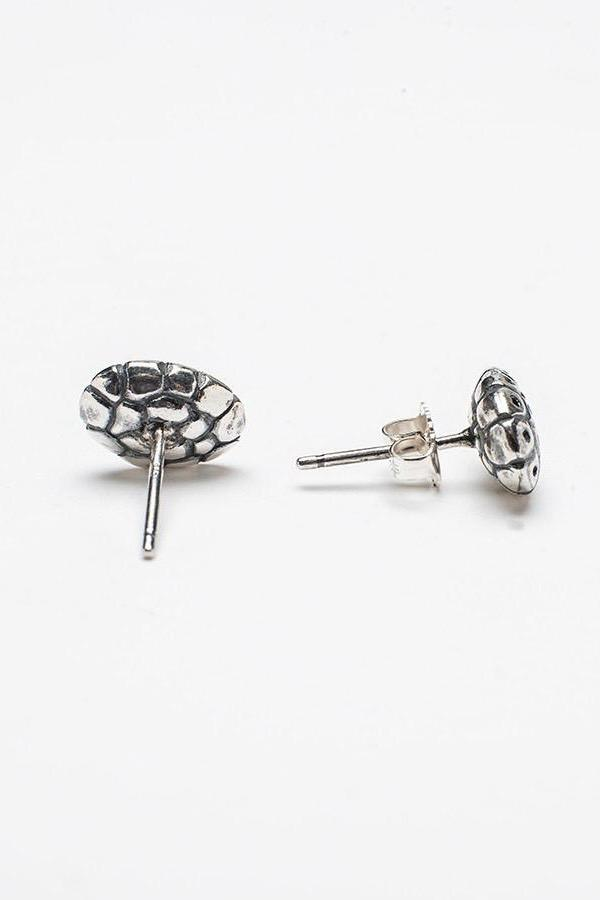 Small Turtle Stud Earrings
