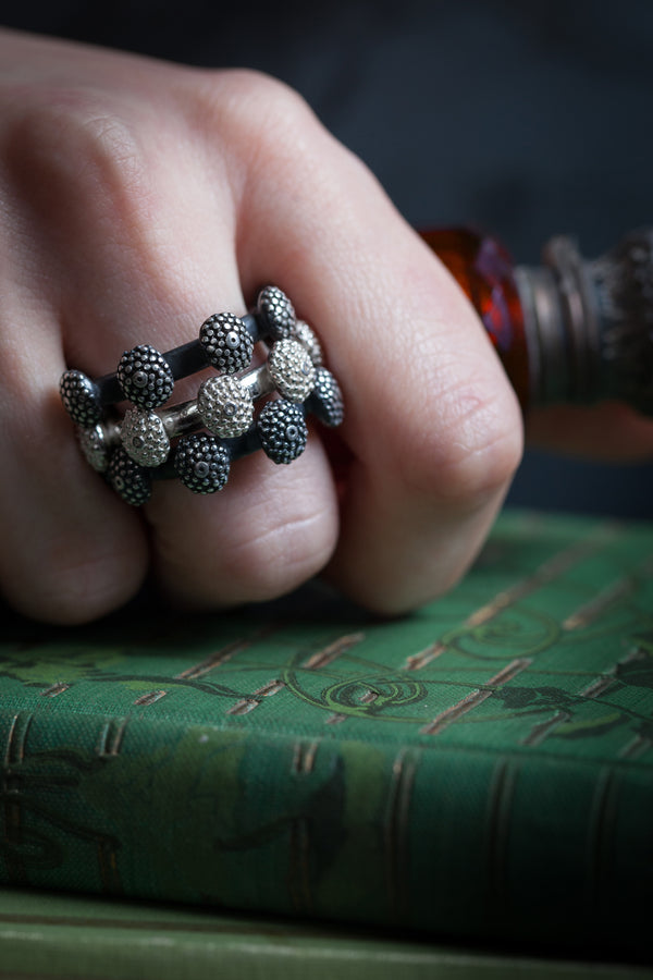 Snake Eye Trio Ring