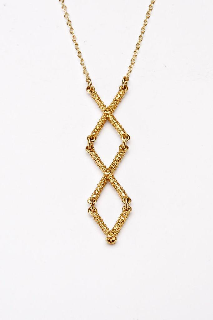 Kiss Cross Necklace