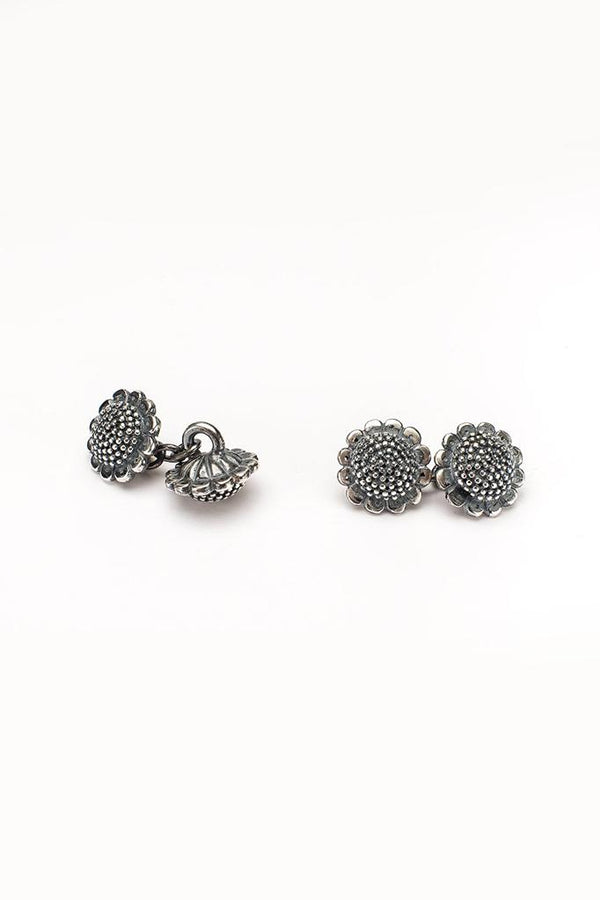Sunflower Chain Link Cufflinks