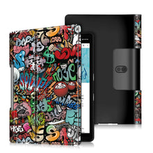 Load image into Gallery viewer, ProElite PU Leather Flip case Cover for Lenovo Yoga Smart Tab 10.1 YT-X705X & YT-X705F Tablet, Hippy