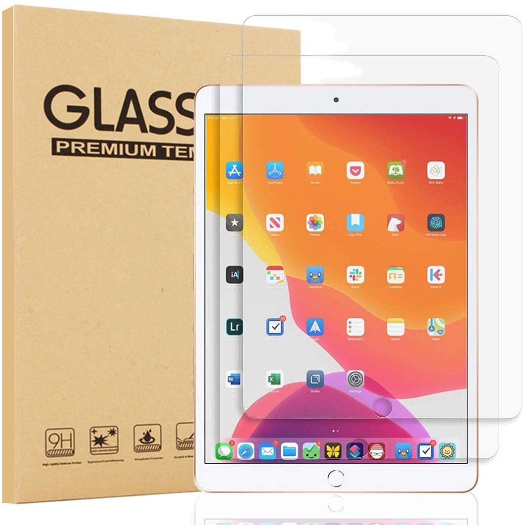 [2-Pack] ProElite Premium Tempered Glass Screen Protector for Apple iPad 10.2 inch 8th Gen/7th Gen