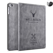 "Load image into Gallery viewer, ProElite Deer Flip case Cover for Samsung Galaxy Tab A 10.1"" T510/T515- Grey"