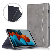 "Load image into Gallery viewer, ProElite Smart Multi Angle case Cover for Samsung Galaxy Tab S7 11"" SM-T870/T875 with S Pen Holder, Grey"