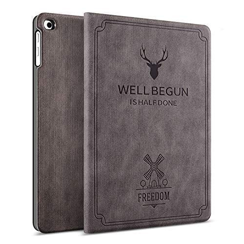 ProElite Deer Flip case Cover for Samsung Galaxy Tab A 8 inch SM-T290/SM-T295 (Coffee)