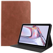 "Load image into Gallery viewer, ProElite Smart Flip case Cover for Samsung Galaxy Tab A7 10.4"" SM-T500/T505/T507 [Brown]"