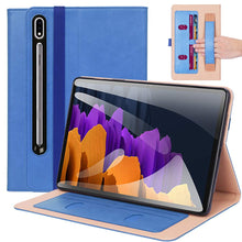 Load image into Gallery viewer, ProElite Business Smart Case Cover for Samsung Galaxy Tab Tab S7 Plus 12.4 Inch SM-T970/T975/T976 [Blue]
