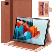 "Load image into Gallery viewer, ProElite Business Smart Case Cover for Samsung Galaxy Tab A7 10.4"" SM-T500/T505/T507 [Brown]"