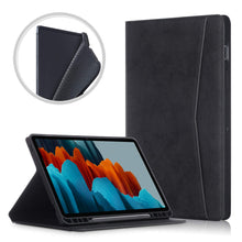 "Load image into Gallery viewer, ProElite Smart Multi Angle case Cover for Samsung Galaxy Tab S7 11"" SM-T870/T875 with S Pen Holder, Black"