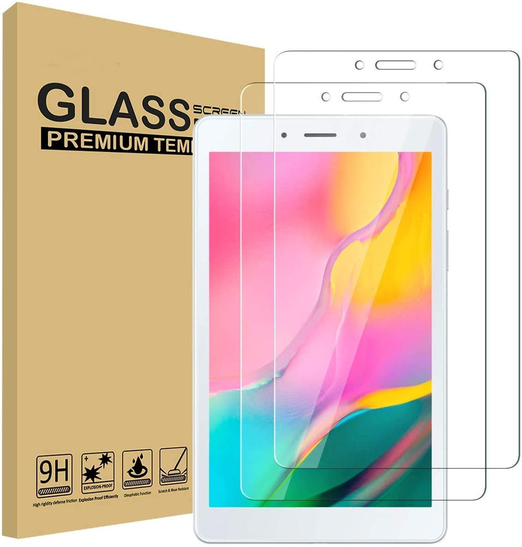 [2-Pack] ProElite Premium Tempered Glass Screen Protector for Samsung Galaxy Tab A 8.0 2019 SM-T295 T290