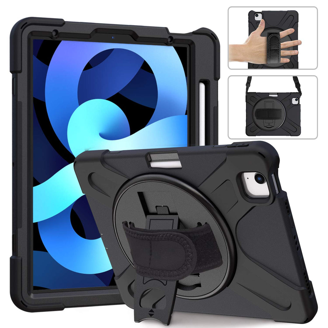 ProElite Rugged 3 Layer Armor case Cover for Apple iPad Air 4 10.9