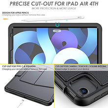 Load image into Gallery viewer, ProElite Magnetic 7 Angles Smart case Cover for Apple iPad Pro 11 inch 2020/2018 with Pencil Sleeve, Black