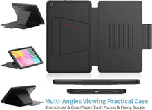 Load image into Gallery viewer, ProElite Magnetic 7 Angles Smart case Cover for Samsung Galaxy Tab A 10.1 SM-T510/T515/T517, Black