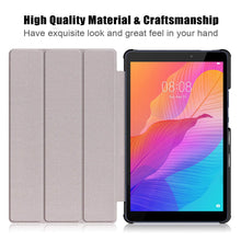 Load image into Gallery viewer, ProElite Ultra Sleek Smart Flip Case Cover for Huawei Matepad T8 Tablet , Diamonds