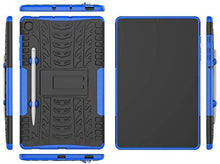Load image into Gallery viewer, ProElite Shockproof Tough Heavy-Duty Armor Case with Pen Slot Cover for Samsung Galaxy Tab S6 Lite 10.4 Inch SM-P610/P615, Blue