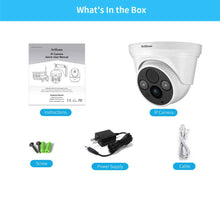 Load image into Gallery viewer, Srihome SH030 Dome Wireless WiFi 3MP Ultra HD 1296p IP Security Camera CCTV with 2 Way Audio