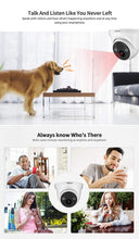 Load image into Gallery viewer, Srihome SH030b Dome POE 3MP Ultra HD 1296p IP Security Camera CCTV with 2 Way Audio