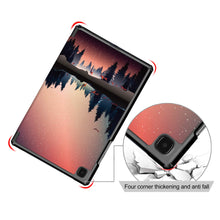 "Load image into Gallery viewer, ProElite Smart Trifold Flip case Cover for Samsung Galaxy Tab A7 10.4"" SM-T500/T505/T507, Scenery"