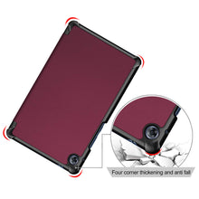 Load image into Gallery viewer, ProElite Ultra Sleek Smart Flip Case Cover for Huawei Matepad T8 Tablet , WineRed