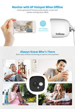 Load image into Gallery viewer, Srihome SH029 3MP Ultra HD 1296p Wireless WiFi Waterproof Indoor/Outdoor IP Security Camera CCTV with 2 Way Audio