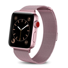 Load image into Gallery viewer, ProElite 42/44 MM Milanese Wrist Band for Apple Watch Series 6/5/4/3/2/1/SE, Rose Gold