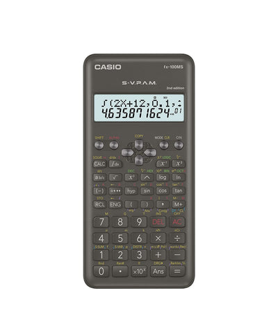 CALCULADORA CASIO - ESCUELA Y UNIVERSIDAD FX-100MS  | CASIOTIENDASOFICIALES.COM  | COLOMBIA |