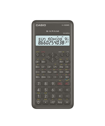 CALCULADORA CASIO - ESCUELA Y UNIVERSIDAD FX-350MS 2 | CASIOTIENDASOFICIALES.COM  | COLOMBIA |