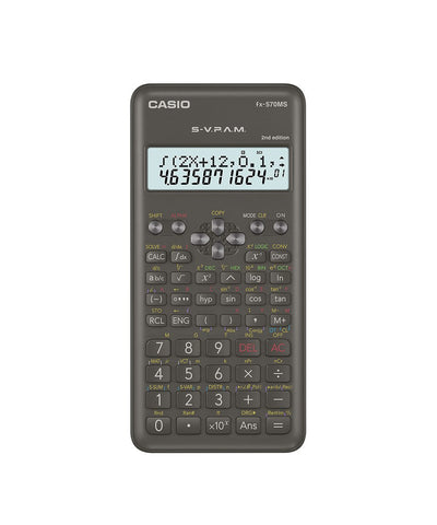 CALCULADORA CASIO - ESCUELA Y UNIVERSIDAD FX-570MS  | CASIOTIENDASOFICIALES.COM  | COLOMBIA |