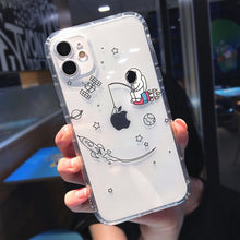 Load image into Gallery viewer, Astronaut Shockproof Phone Case For iPhones