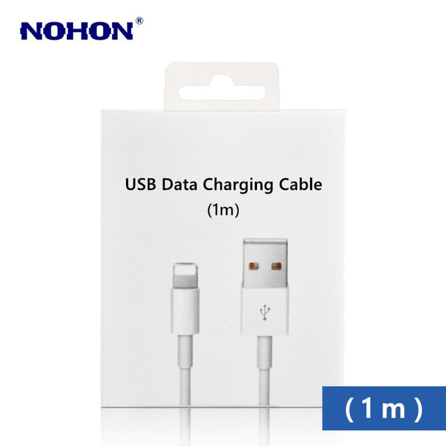1m 2m Original USB Data Sync Charging Cable for iPhone