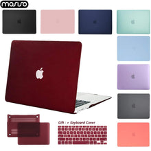 Load image into Gallery viewer, Soft Touch Matte Laptop Case For Macbook - Matte Airy Blue