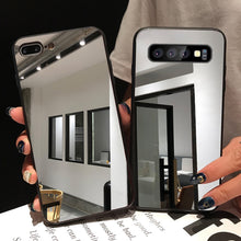 Load image into Gallery viewer, Luxury Makeup Mirror Phone Case For Samsung A Series And S Series