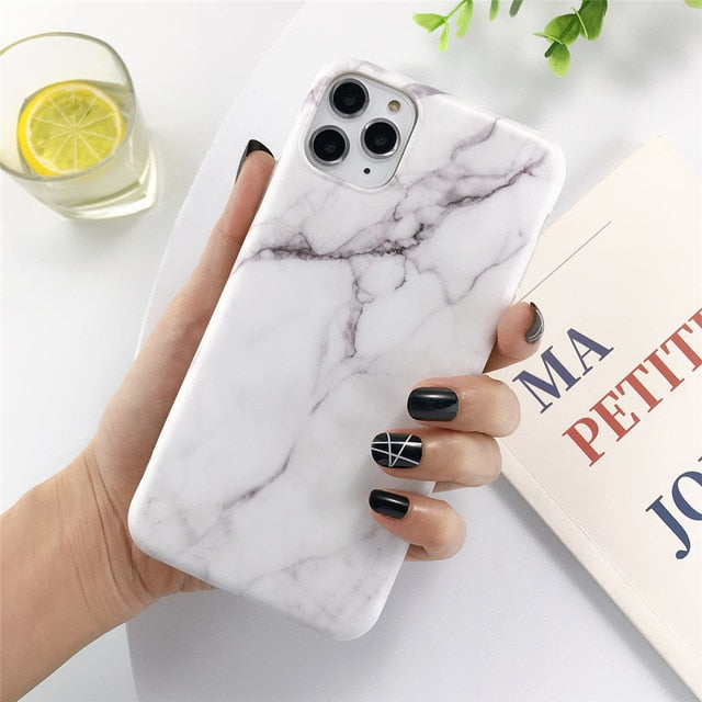 Marble Stone Texture Phone Case For iPhone