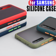 Load image into Gallery viewer, Samsung Silicone Case Multi Color For  S-Series, Note Series and A-Series Translucent