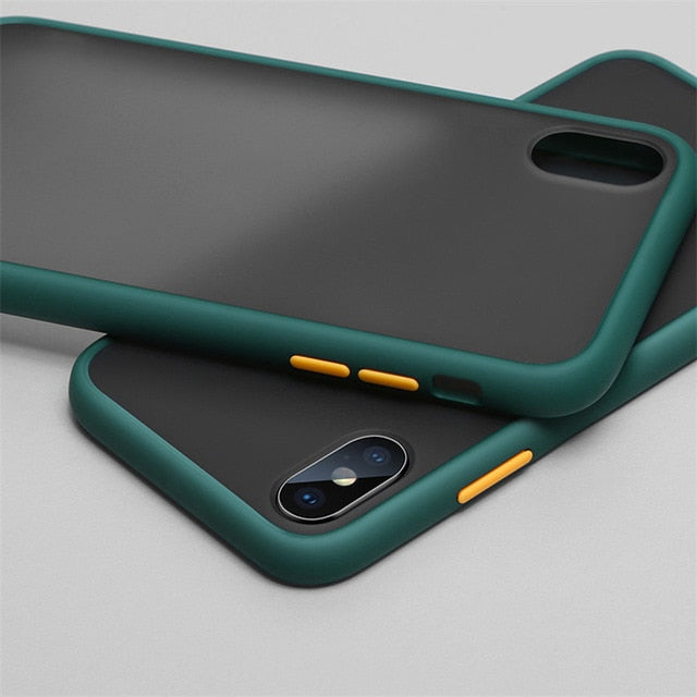 Samsung Silicone Case Multi Color For  S-Series, Note Series and A-Series Dark Green