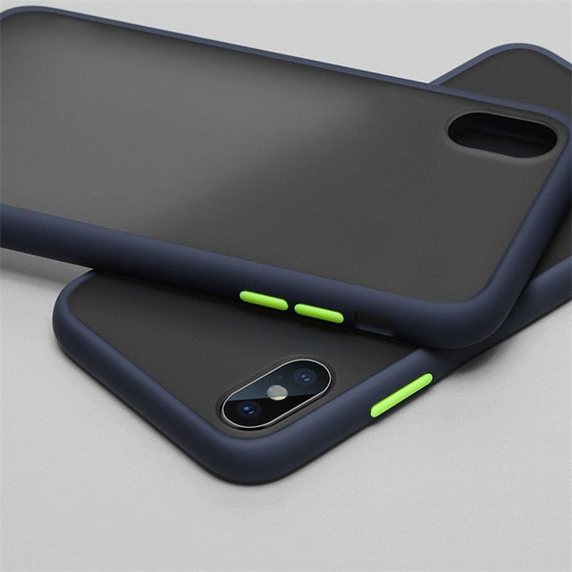 Samsung Silicone Case Multi Color For  S-Series, Note Series and A-Series Dark Blue