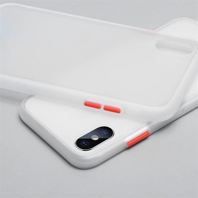 Samsung Silicone Case Multi Color For  S-Series, Note Series and A-Series Translucent