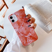 Load image into Gallery viewer, Marble Stone Texture Phone Case For iPhone