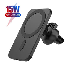 Load image into Gallery viewer, 15W Fast Magnetic Wireless Charger Holder For iPhone 12 Mini 12  Pro Max