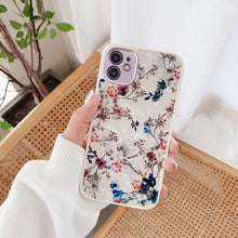 Load image into Gallery viewer, Luxury Cover Plating Floral Case for iPhone 7 - 12 Pro Max