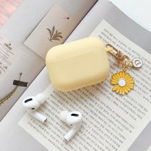 Load image into Gallery viewer, AirPods Pro Case Korean flower Cute Peach Pendant