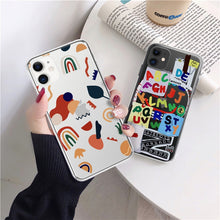 Load image into Gallery viewer, Art Graffiti Phone Case For iPhone 7 - 12 Pro Max