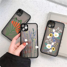 Load image into Gallery viewer, Flowers Matte Case For iPhone 7 - 12 Pro Max - 3D Texture Feel