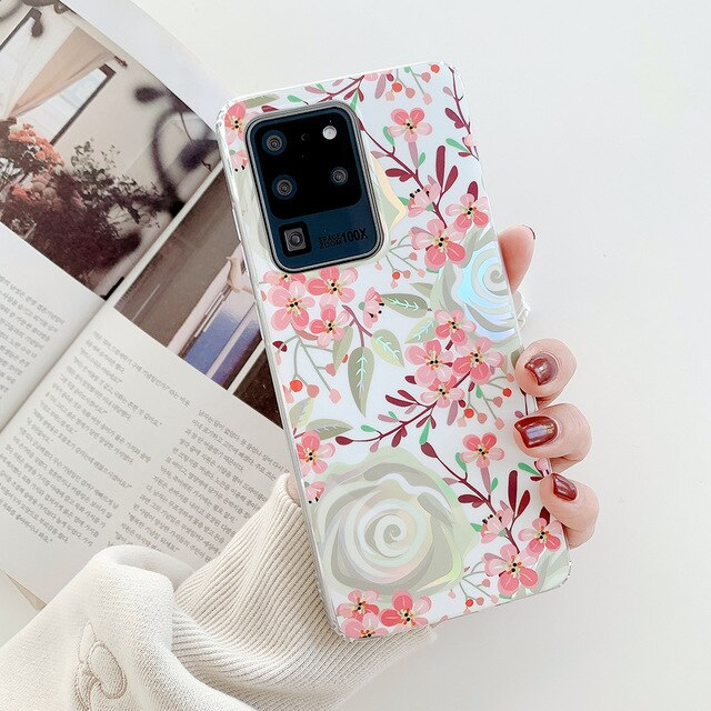 Flowers Phone Case For Samsung Galaxy A Series, S Series and Note Series