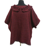 BF101 Solid Color Pullover Cape