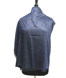 IN303A Solid Color Metallic Scarf