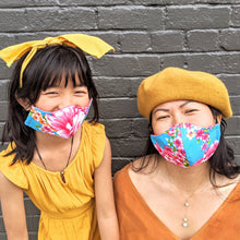 Load image into Gallery viewer, The Future is Floral Cotton Face Mask